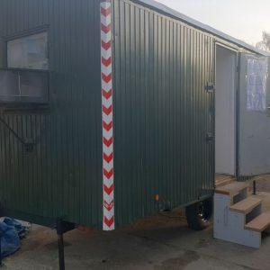 Fortschritte beim Erna-Graff-Taubenhaus auf dem Tempelhofer Feld